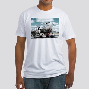 United DC-3 Fitted T-Shirt