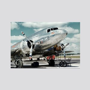 United DC-3 Rectangle Magnet