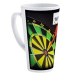 Infinite Funds Bullseye 17 oz Latte Mug