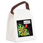 Infinite Funds Bullseye Canvas Lunch Bag