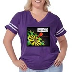Infinite Funds Bullseye Women's Plus Size Football