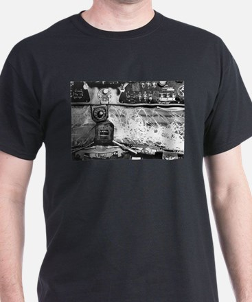 A Bad Day at The C-47 Office Black T-Shirt