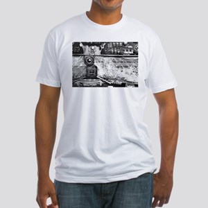 A Bad Day at The C-47 Office Fitted T-Shirt