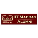 IITMAANA Car Bumper Sticker
