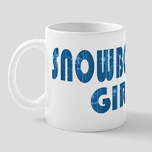 Snowboard Girl Mug