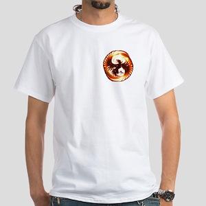 2-Phoenix spiral T-Shirt