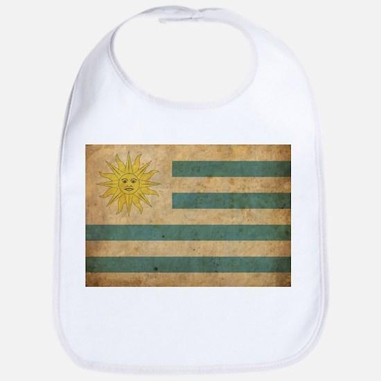 Vintage Uruguay Flag Bib
