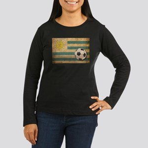 Vintage Uruguay Football Women's Long Sleeve Dark