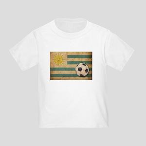 Vintage Uruguay Football Toddler T-Shirt