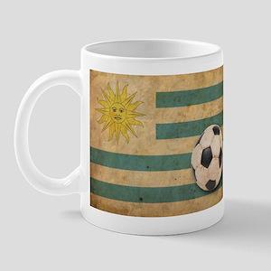 Vintage Uruguay Football Mug