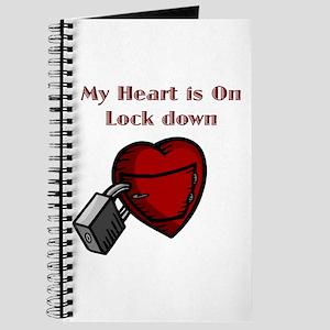 My Heart Is Locked Journal