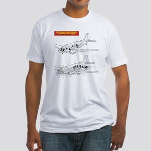 C-47 Ditching Stations Fitted T-Shirt