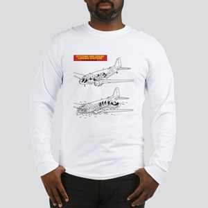 C-47 Ditching Stations Long Sleeve T-Shirt