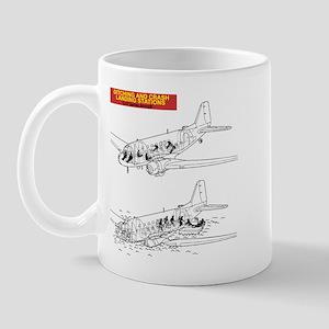 C-47 Ditching Stations Mug