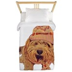 A Warm Winter's Yawn Twin Duvet Cover