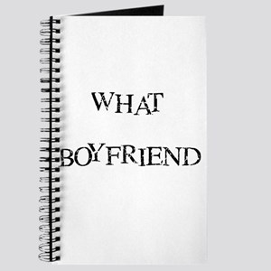 Whate Boyfriend Journal