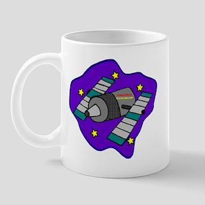 Cartoon Satelite Mug