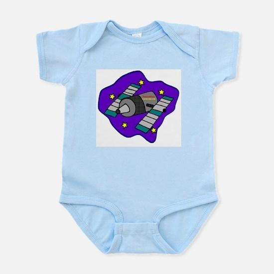 Cartoon Satelite Infant Creeper