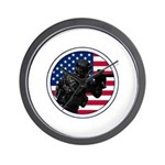 American Soldier Wall Clock