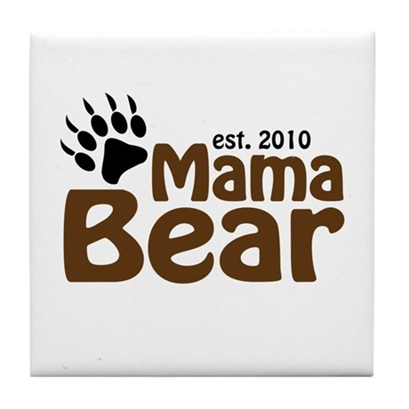 Mama Bear Claw 2010 Tile Coaster