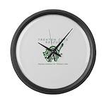 TCR logo Green Large Wall Clock