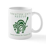 TCR logo Green Mugs
