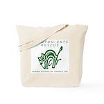 TCR logo Green Tote Bag