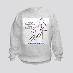 Barrel Racing Kids Sweatshirt