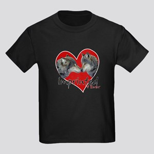 Imprinted 4 Ever Wolves Kids Dark T-Shirt