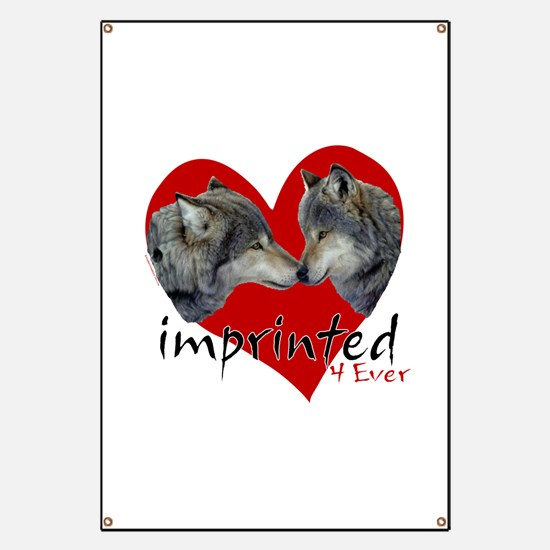Imprinted 4 Ever Wolves Banner