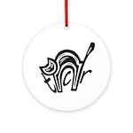 TCR logo symbol Round Ornament
