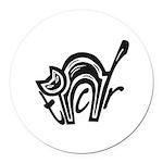 TCR logo symbol Round Car Magnet