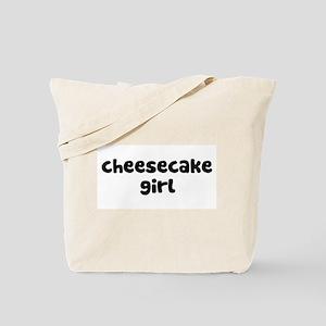 Cheesecake Girl Tote Bag