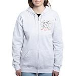 Molecularshirts.com Heme Women's Zip Hoodie