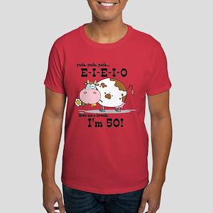 EIEIO 50th Birthday Dark T-Shirt