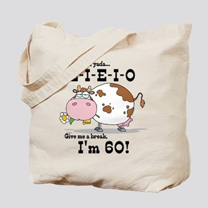 EIEIO 60th Birthday Tote Bag