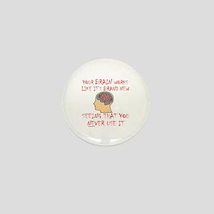 BRAIN HUMOR Mini Button