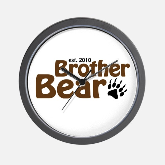 New Brother Bear 2010 Wall Clock