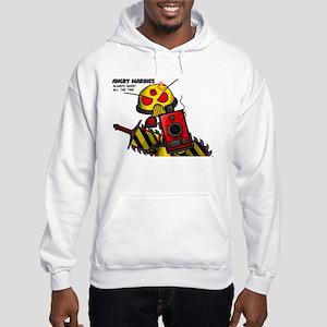 Angry Marines Hooded Sweatshirt