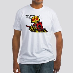 Angry Marines Fitted T-Shirt