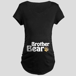 Brother Bear Maternity Dark T-Shirt