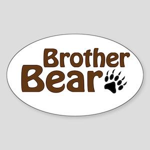 Brother Bear Sticker (Oval)