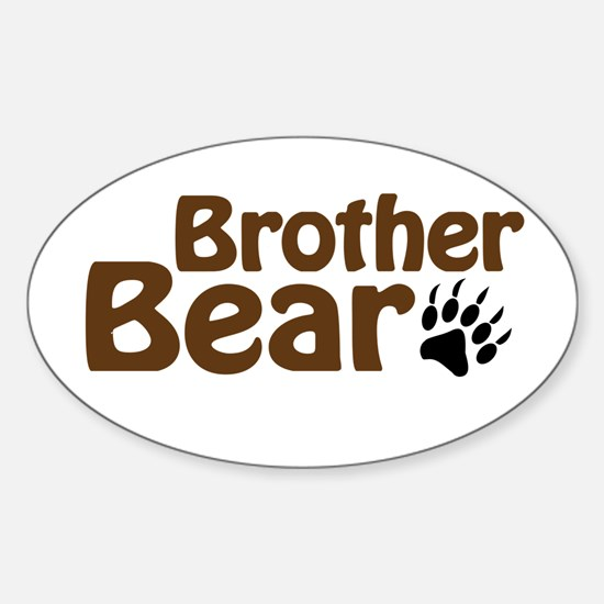 Brother Bear Sticker (Oval)