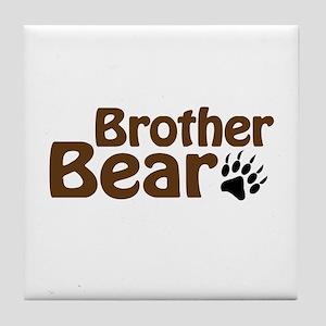 Brother Bear Tile Coaster