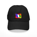 NPA Black Cap w/ Flying Tri Flag