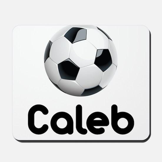 Soccer Caleb Mousepad