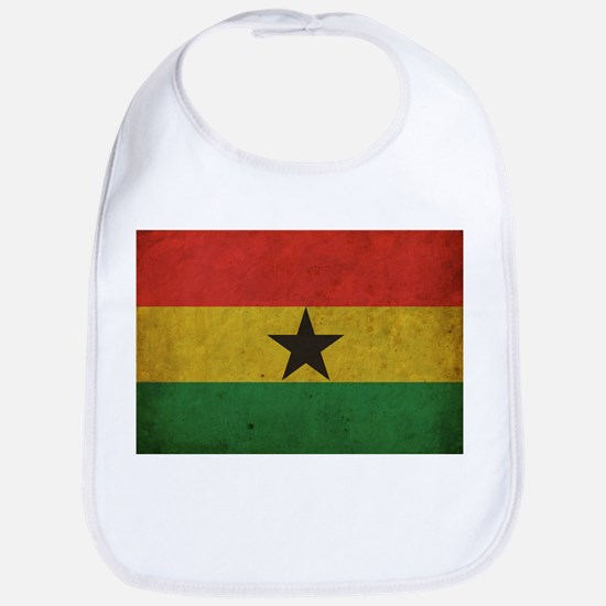 Vintage Ghana Flag Bib