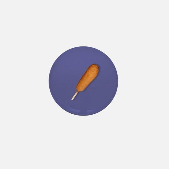Corn Dog Mini Button