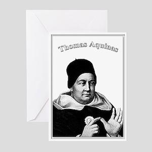Thomas Aquinas 01 Greeting Cards (Pk of 10)