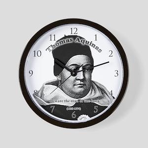 Thomas Aquinas 01 Wall Clock